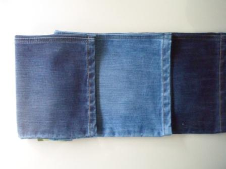 Dark Denim (Cotton-Polyester) 12.0 Ozs